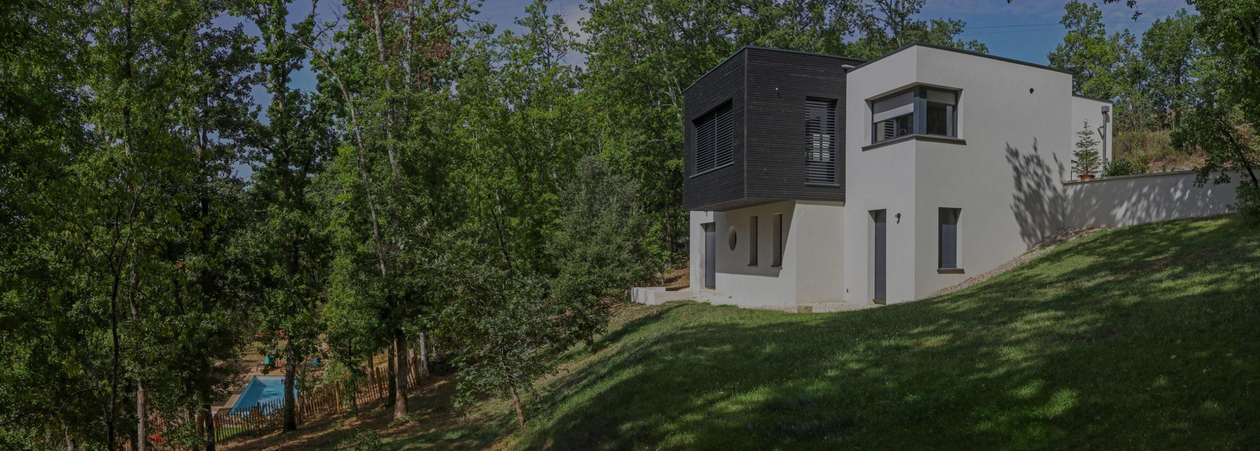 Villa Nakalta entre Lot et Dordogne