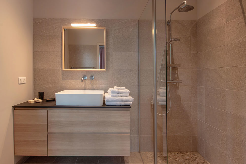 Salle de bain privative Location Villa