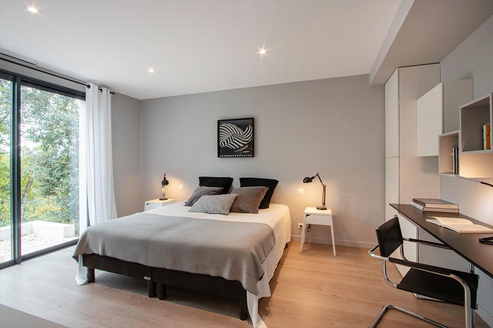 chambres moderne Villa nakalta