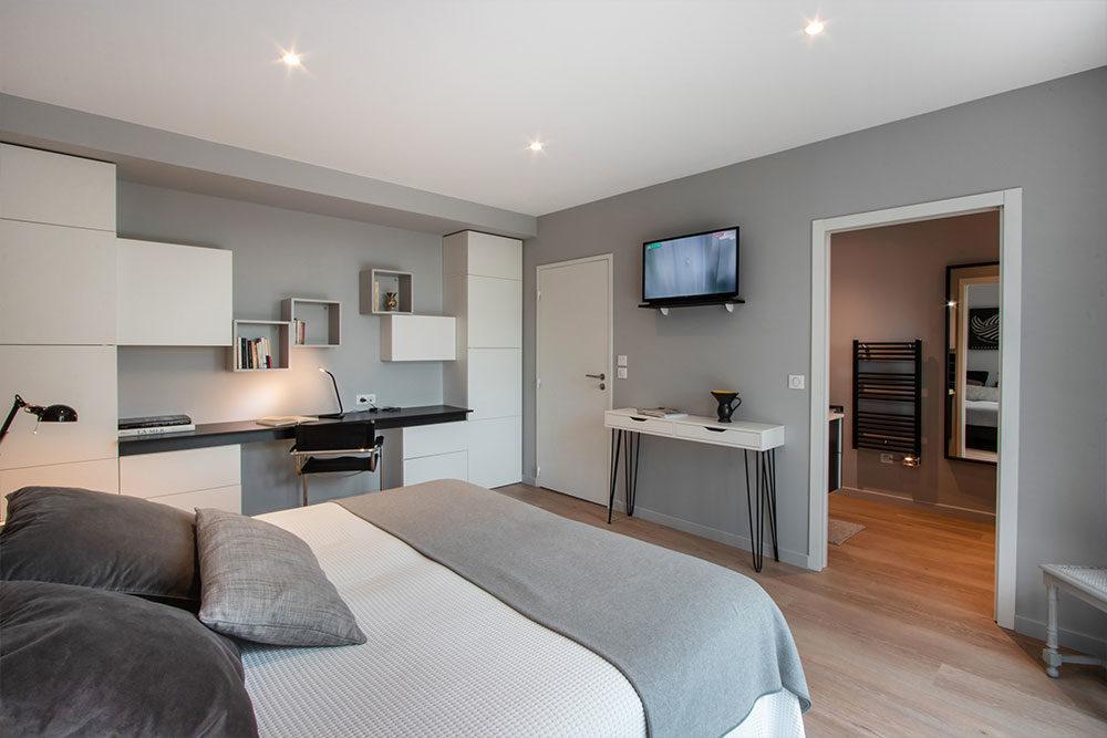 Chambre moderne villa luxe