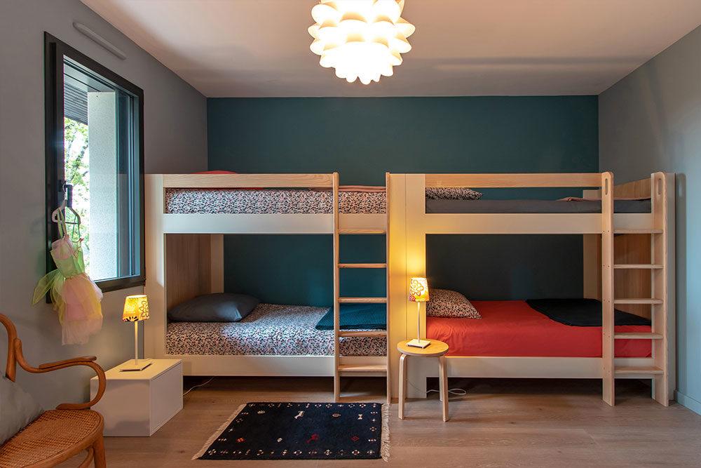 Chambres enfant location Villa Nakalta