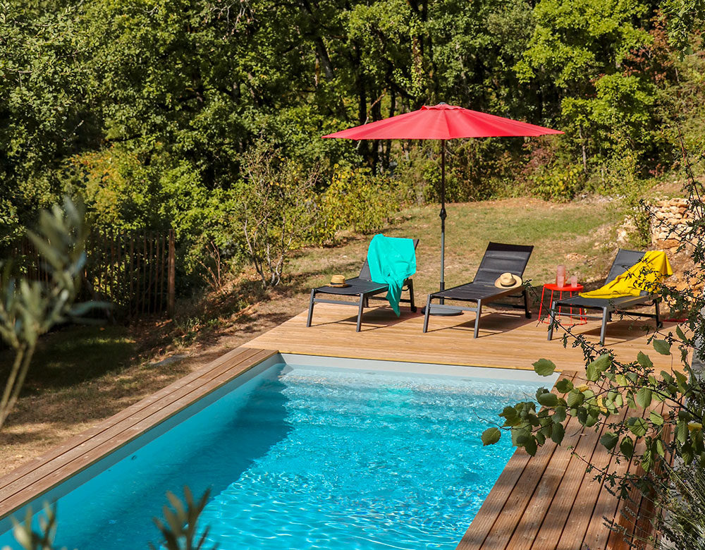 Location Villa à Cazoules avec piscine privative
