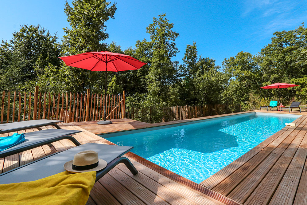 piscine et terrasse privée Villa de luxe